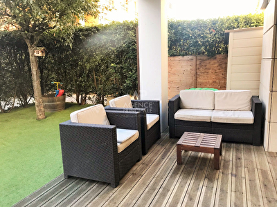 Photo n° 1 - MEUDON BELLEVUE  - APPARTEMENT TERRASSE ET JARDIN